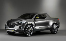 Hyundai Santa Cruz ได้รับรางวัลกระบะต้นแบบแห่งปี 2015