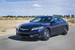 Honda Accord Coupe 2016 ใหม่ เผยโฉมอย่างเป็นทางการในสหรัฐฯ