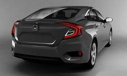 หลุดราคา Honda Civic 2016 ใหม่ แพงขึ้นกว่าเดิมแค่ 5 พันบาท