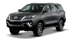 ราคารถใหม่ Toyota ในตลาดรถประจำเดือนธันวาคม 2558