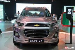 Chevrolet Captiva 2016 ไมเนอร์เชนจ์ใหม่พร้อมฟังก์ชั่น Apple CarPlay