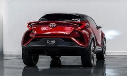 Toyota C-HR เวอร์ชั่นขายจริงเตรียมเปิดตัวต้นปี 2016 นี้
