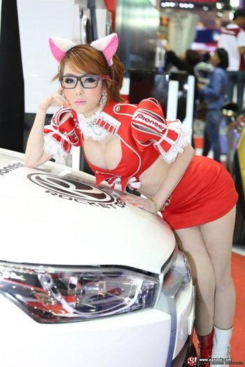 พริตตี้ PIONEER - Motor Show 2014