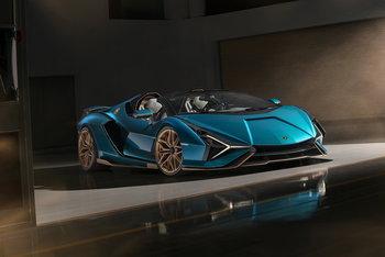 19 คันหมดอย่างไว! Lamborghini Sián Roadster ขุมพลังไฮบริดราคาร้อยล้าน