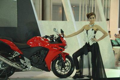 Honda CB - Motor Expo 2012