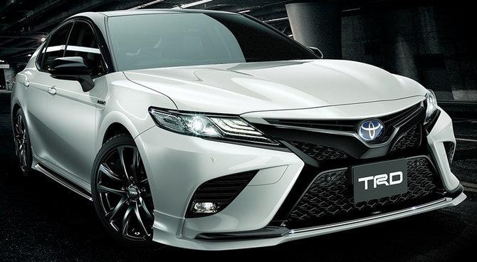 Toyota Camry 2019 ใหม่ พร้อมชุดแต่ง TRD ก่อนเปิดตัวในไทย 29 ต ค นี้