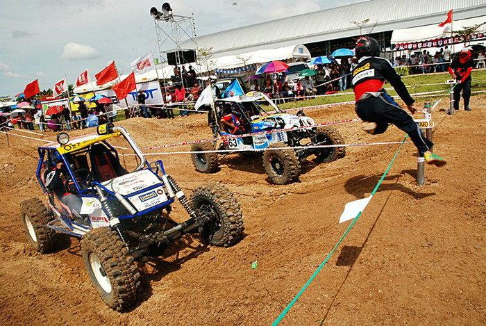 โค้งสุดท้ายการแข่งขัน OFFROAD TROPHY 2012 THAILAND GRAND CHALLENGE  ลุ้นระทึกทุกรุ่น