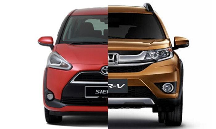 เท ยบสเป ค Toyota Sienta และ Honda Br V ใหม ราคาต างก นหล กหม น