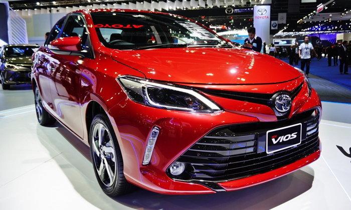 Toyota Vios 2017 ไมเนอร์เชนจ์ใหม่ที่งานมอเตอร์โชว์ ราคา 6.09 แสนบาท