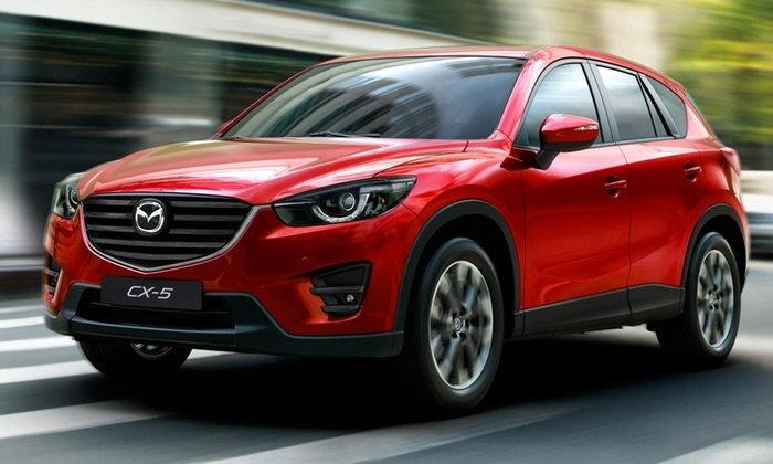 ราคารถใหม่ Mazda ในตลาดรถยนต์เดือนกรกฎาคม 2560