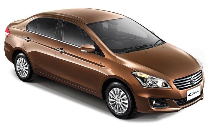 ราคารถใหม่ Suzuki ในตลาดรถยนต์ประจำเดือนธันวาคม 2560