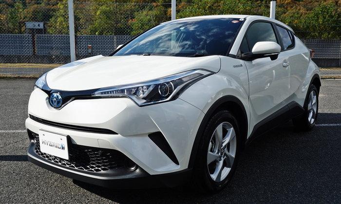 พรีวิว Toyota C-HR 2018 ใหม่ สัมผัสครอสโอเวอร์ดีไซน์เฉียบก่อนใครถึงญี่ปุ่น