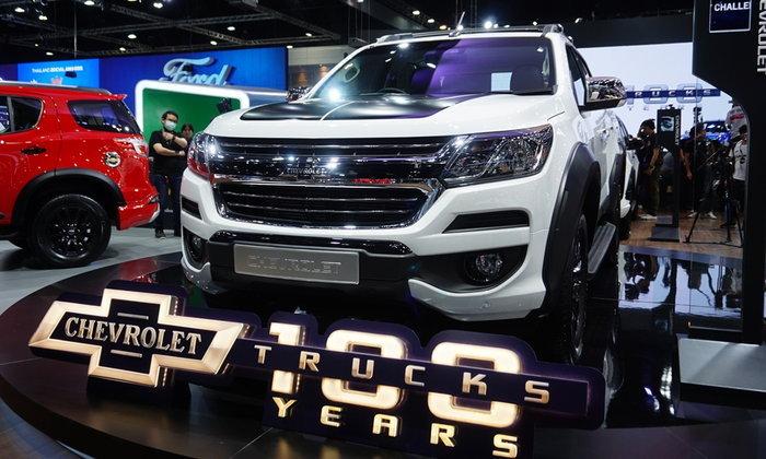 Chevrolet Colorado Centennial Edition 2018 ใหม่ เคาะราคา 814,000 บาท