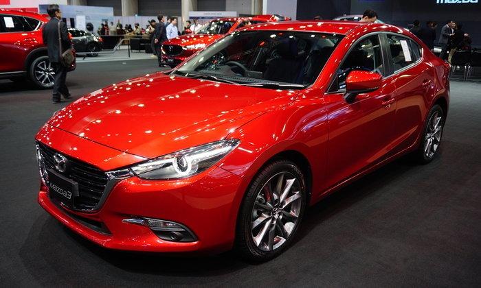 Mazda เผยยอดจองรถใหม่ทั้ง 6 รุ่นในงาน Motor Expo 2017