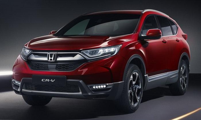 Honda CR-V 2018 ใหม่ เตรียมเปิดตัวในยุโรปพร้อมขุมพลังไฮบริด