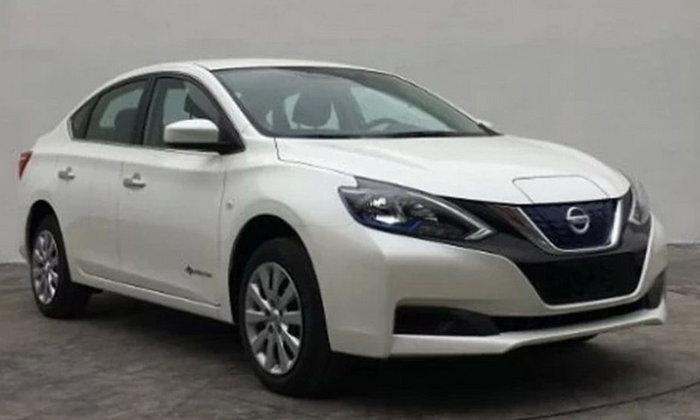 หลุด Nissan Sylphy EV 2018 เวอร์ชั่นไฟฟ้าวิ่งไกล 200 กิโลเมตรไม่ใช้น้ำมัน