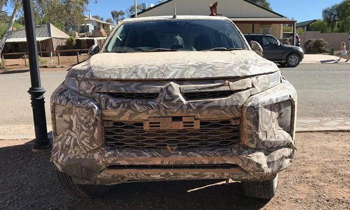 หลุด Mitsubishi Triton 2018 ไมเนอร์เชนจ์ใหม่ ดีไซน์ด้านหน้าคล้าย Xpander