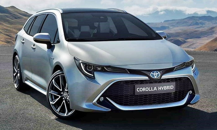 Toyota Corolla Touring Sports 2019 ใหม่ เตรียมเปิดตัวจริงตุลาคมนี้