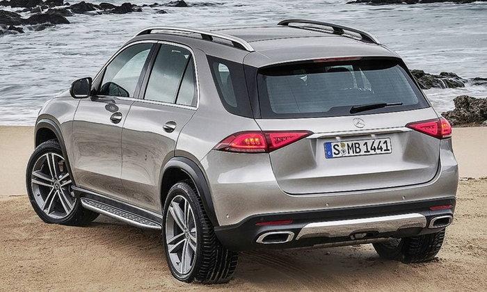 Mercedes-Benz GLE 2019 ใหม่ เผยโฉมอย่างเป็นทางการแล้ว