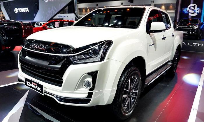 บูธรถ ISUZU ในงาน Motor Expo 2018