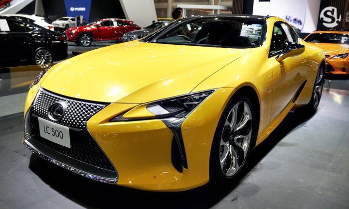 บูธรถ LEXUS ในงาน Motor Expo 2018