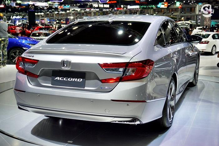 Honda Accord 2019 โฉมใหม่ของจริงถูกจัดแสดงที่งาน Motor Expo 2018