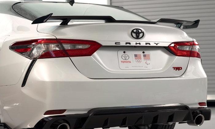 Toyota Camry TRD 2019 เผยโฉมในสหรัฐฯ ก่อนเปิดตัวอย่างเป็นทางการ