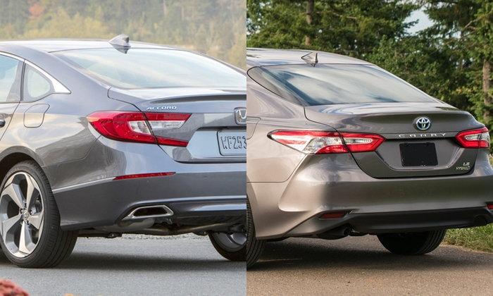 เทียบช็อต Honda Accord 2019 และ Toyota Camry 2019 ใหม่ คันไหนสวยกว่ากัน