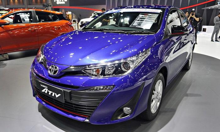 ราคารถใหม่ Toyota ในตลาดรถประจำเดือนกุมภาพันธ์ 2562
