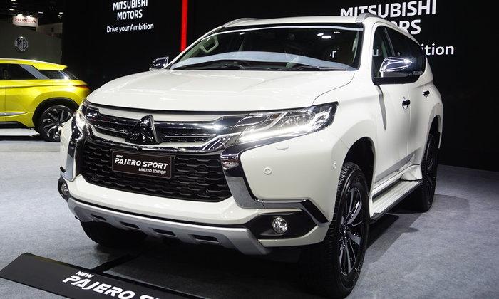 ราคารถใหม่ Mitsubishi ในตลาดรถยนต์ประจำเดือนกุมภาพันธ์ 2562