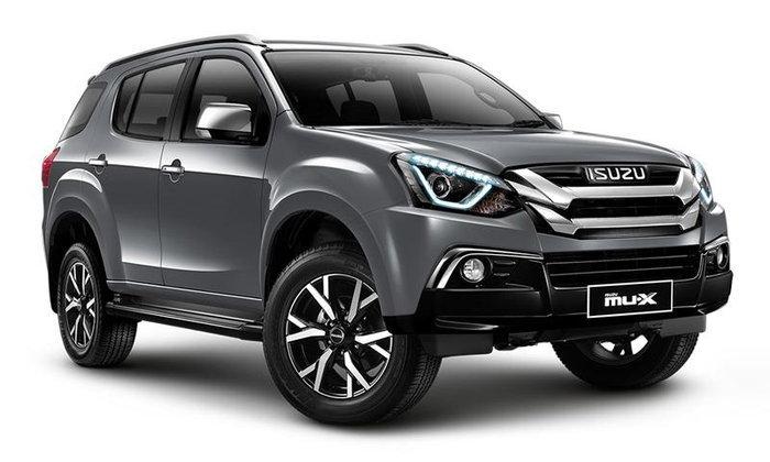 Isuzu MU-X 2019 ปรับไมเนอร์เชนจ์ใหม่ ราคาเริ่ม 1,099,000 บาท