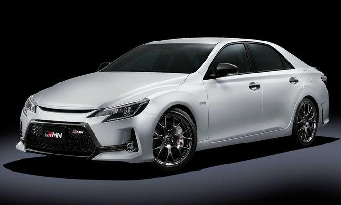 Toyota Mark X GRMN 2019 ใหม่ ขุมพลัง 313 แรงม้าเผยโฉมที่โตเกียวออโต้ซาลอน