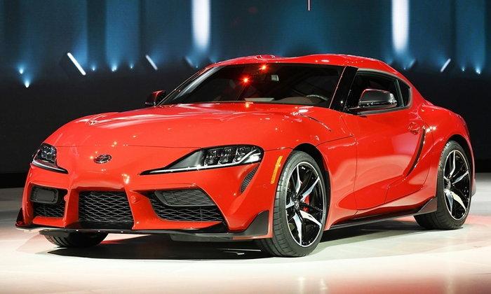 Toyota Supra 2019 ใหม่ พร้อมขุมพลังเทอร์โบ 335 แรงม้า เปิดตัวครั้งแรกในโลก