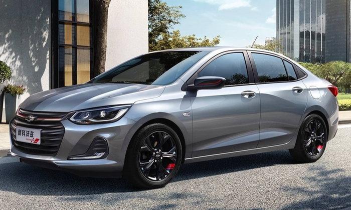 Chevrolet Onix Sedan 2019 ใหม่ เผยโฉมอย่างเป็นทางการที่ประเทศจีน