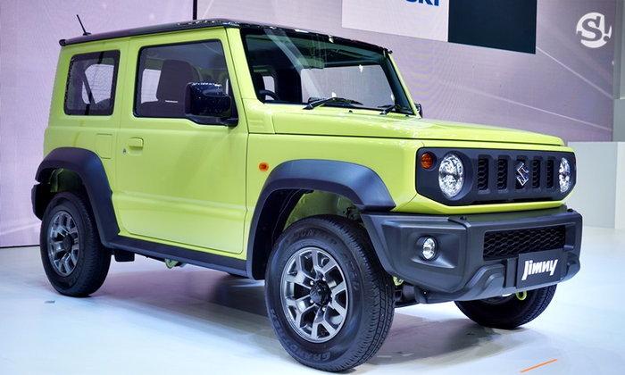 Suzuki Jimny 2019 ใหม่ เปิดตัวจริงแล้วในไทย เคาะเริ่มต้น 1,550,000 บาท