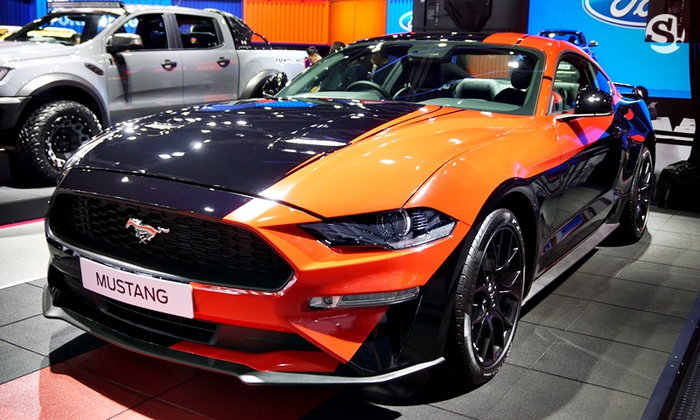 รถใหม่ Ford ในงาน Motor Show 2019