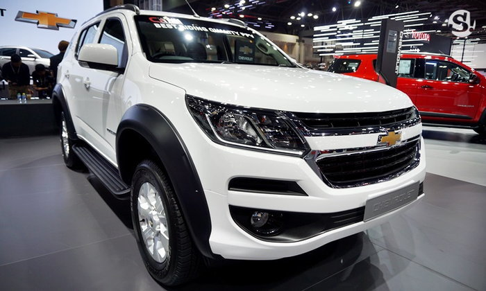 Chevrolet Trailblazer 2019 หั่นราคาพิเศษเหลือ 9.99 แสนบาทที่มอเตอร์โชว์
