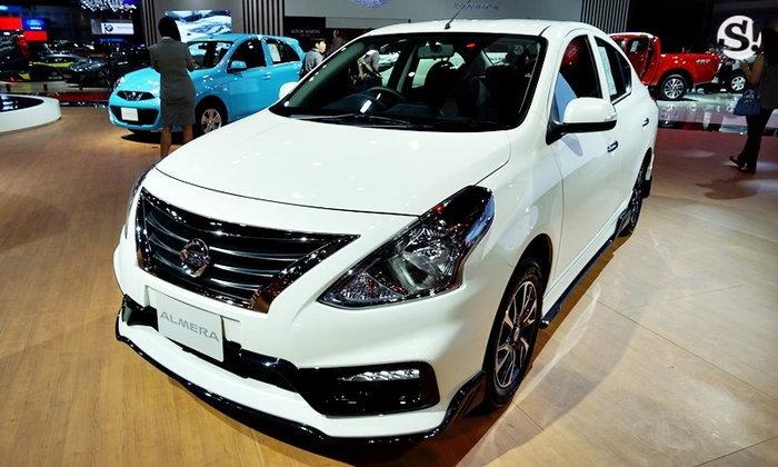Nissan Almera Sportech SV 2019 ใหม่ พร้อมชุดแต่งพิเศษ ราคา 5.55 แสนบาท