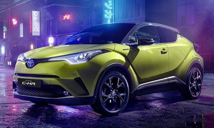 Toyota C-HR Neon Lime 2019 ใหม่ ตัวถังสีเขียวพิเศษจำกัดเพียง 2,000 คันที่ยุโรป