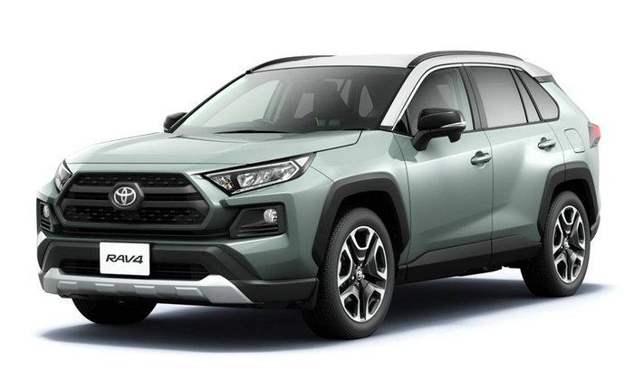 All-new Toyota RAV4 2019 ใหม่ เปิดตัวที่ญี่ปุ่น ปรับดีไซน์หล่อเข้มกว่าเดิม