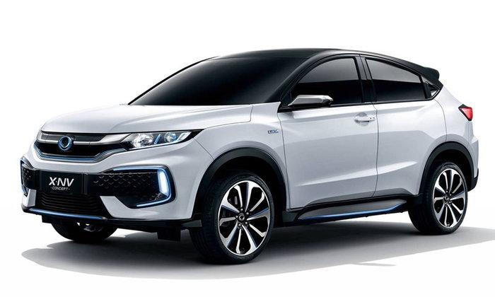 Honda X-NV 2019 ใหม่ รถไฟฟ้าพื้นฐานเดียวกับ HR-V เปิดตัวที่จีน