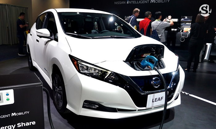 Nissan Leaf Plus 2019 ใหม่ พร้อมแบตลูกใหญ่วิ่งไกลขึ้น ราคาแค่ 1.16 ล้านบาท