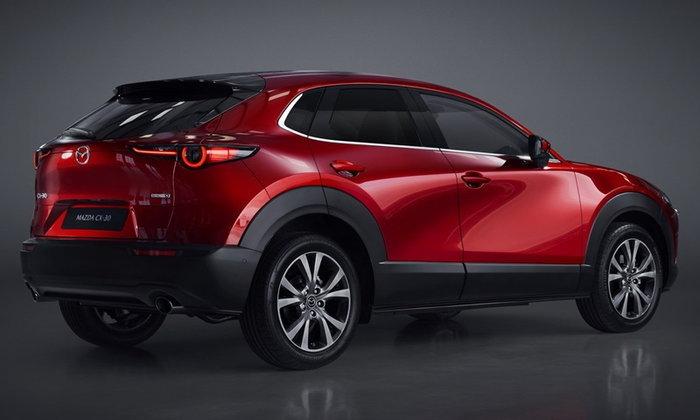 Mazda CX-30 2019 ใหม่ เผยโฉมครั้งแรกในโลก ใช้พื้นฐานเดียวกับ Mazda3