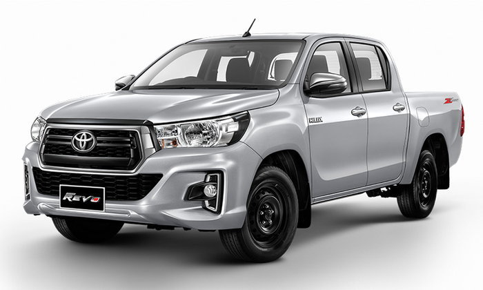 Toyota Hilux Revo Z Edition 2019, new, low-rise pick-up, handsome, starting price 5.99 hundred thousand baht