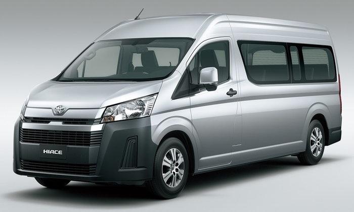 ไปดู Toyota Hiace 2019 ใหม่ รถตู้รุ่นล่าสุดทั้งภายนอก-ภายในก่อนเปิดตัวในไทย