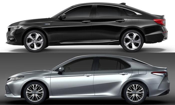 เทียบโฉม Honda Accord 2019 และ Toyota Camry 2019 ใหม่ คันไหนสวยกว่ากัน