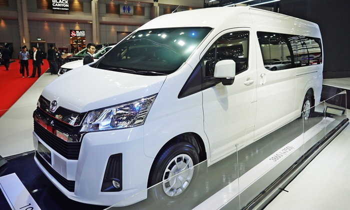 All-new Toyota Commuter 2019 ใหม่ เคาะวันเปิดตัวจริงในไทย 11 มิ.ย.นี้