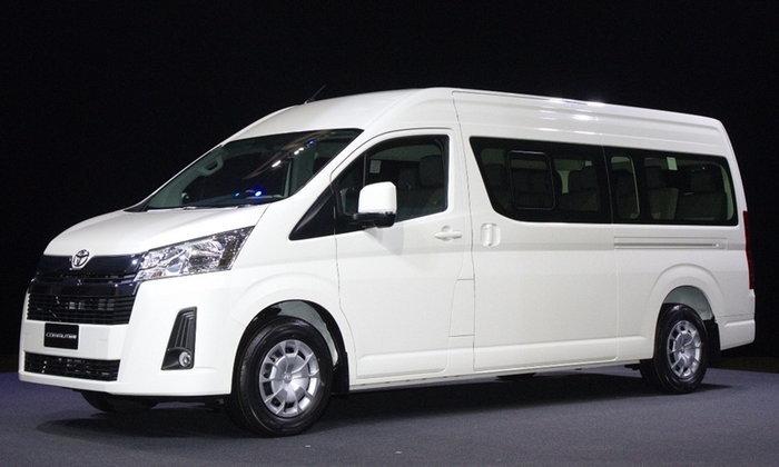 All-new Toyota Commuter 2019 ใหม่ ขายจริงแล้วในไทย เริ่มต้น 1,269,000 บาท