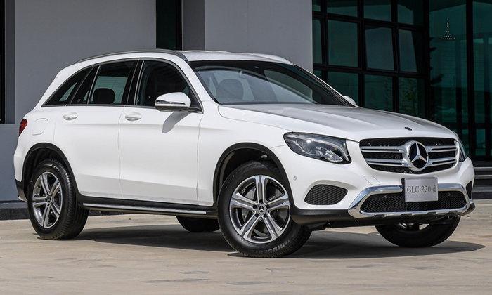 Mercedes-Benz GLC220d 4MATIC 2019 ใหม่ หั่นราคาเหลือเพียง 3,040,000 บาท