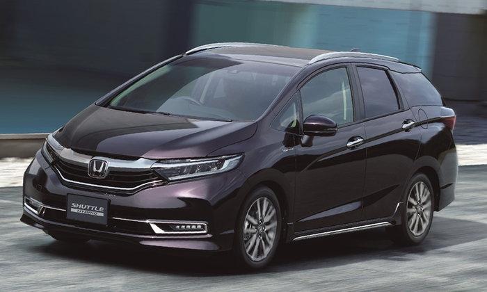 Honda Shuttle 2019 ไมเนอร์เชนจ์ใหม่ปรับดีไซน์รอบคันเปิดตัวที่ญี่ปุ่น